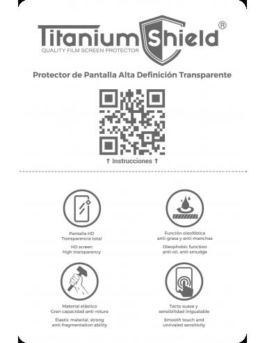 Láminas de Hidrogel HD Titanium Shield