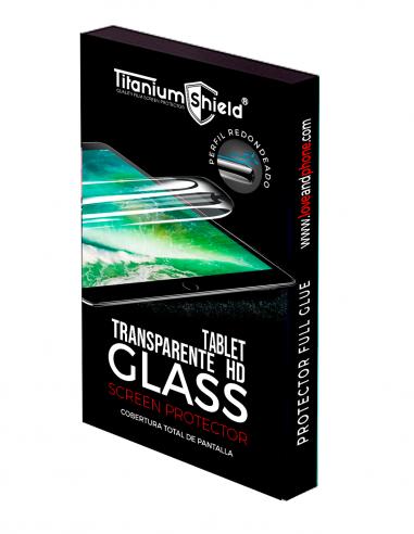 Láminas de Hidrogel HD Titanium Shield para Tablet resistente a los arañazos y ajuste perfecto en los bordes curvos.